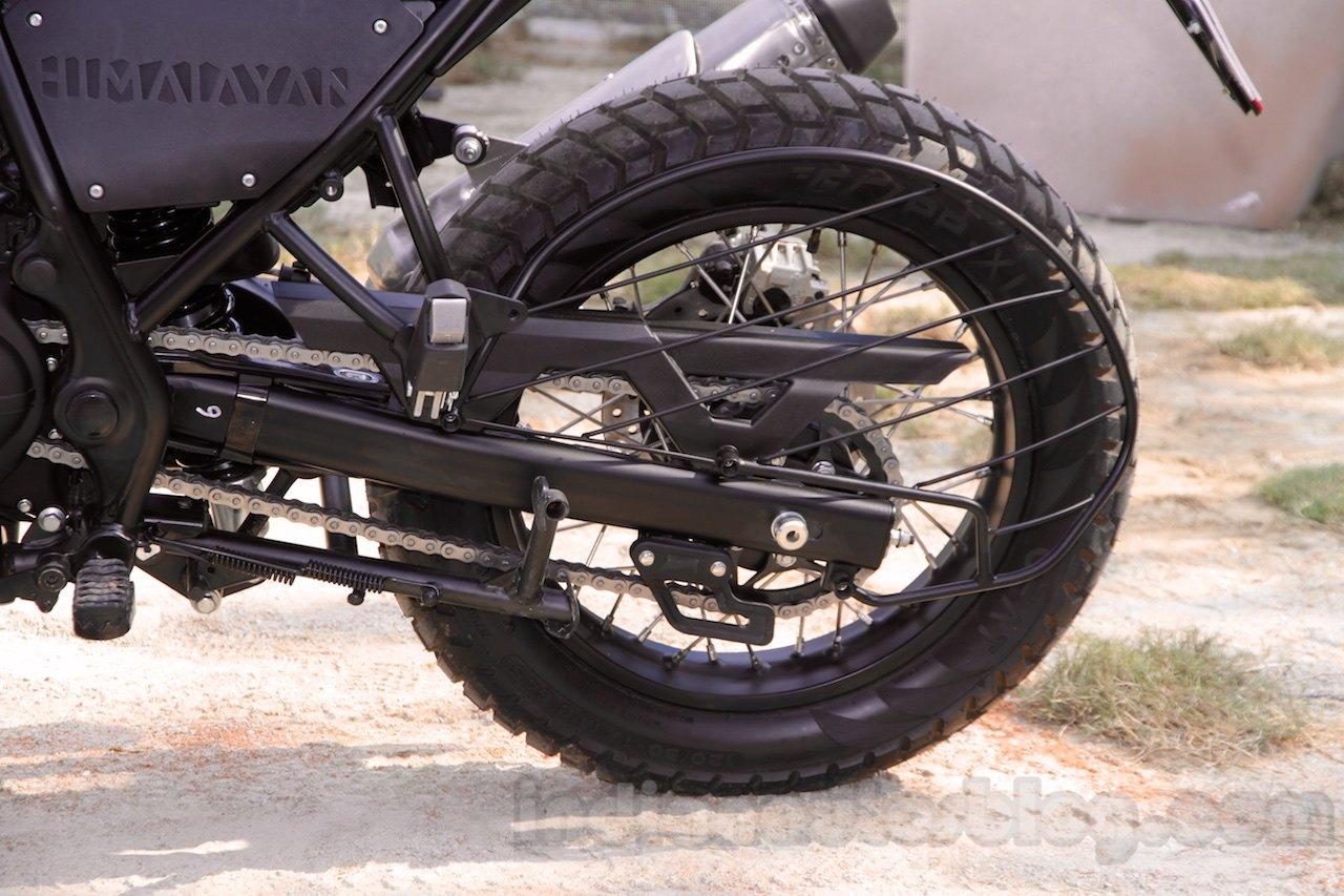 Royal-Enfield-Himalayan-rear-wheel-saree-guard-unveiled