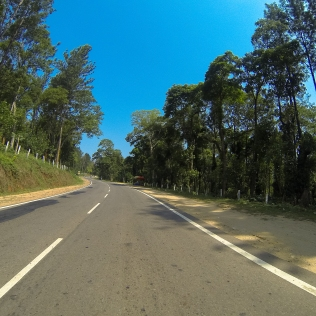 The road to Coorg...